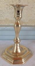 bougeoir bronze fin 17eme haute époque marqué sur la base candlestick (n°8)