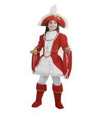 Vestito Costume Lady Moschettiere 6/7 anni Carnevale Pegasus Party