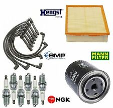 Tune Up Kit Filters with Plugs Wire Set for Volkswagen Passat V6; 2.8L 1998-2005