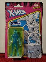 "2021 Hasbro Marvel LegendsThe Uncanny X-Men Retro Iceman 3.75"" Figure Unpunched"