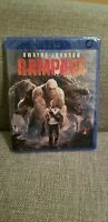 Rampage (Blu-ray, 2018) Dwayne Johnson Same day Shipping read