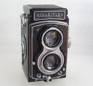 Rolleifiex New Standard Rare Medium Format TLR, Case, Working & Film Tested