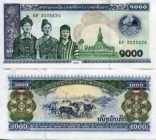 Lao Laos 2013 1000 Kip UNC Uncirculated Communist Banknote Currency Money