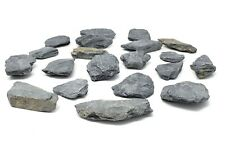 Small Slate Rocks - 1.5 LBS of Slate Rocks 1 to 2 inches (Stones Are Very Dusty)