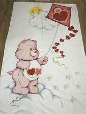 Vintage retro Care Bears Duvet Cover Single Fabric Kids Bedding Material Rare