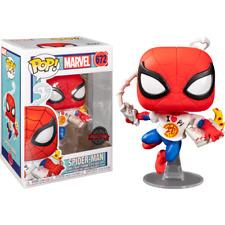 Spider-Man - Spider-Man avec Pizza Pop! Figure de vinyle exclusive