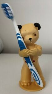 sooty and sweep 1960's toothbrush holder