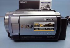Sony Handycam HDR-XR100 80 GB HDD Full High Definition 1080 Accessories IOB