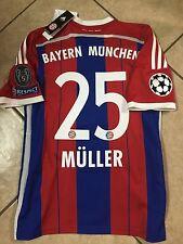 Germany Fc bayern Munich Muller jersey  Adidas  football Soccer shirt S,M,L,XL