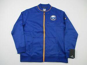Buffalo Sabres Fanatics Jacket Men's Blue Poly NEW L