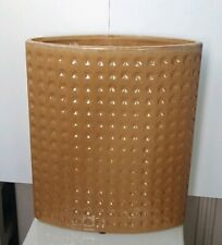 Large Contemporary Ceramic Square Dimpled Vase