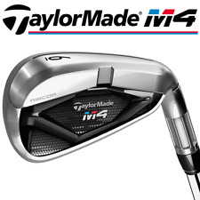 """NEW 2018"" TAYLORMADE M4 5-SW IRONS / KBS MAX 85 REGULAR STEEL 1/2"" LONG SHAFTS"