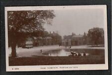 Tram Terminus Norton on Tees 1920's RP Postcard ~ Stockton Co Durham