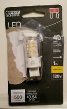 Feit Electric LED G9/T4 40W Replacement (4.5W) Bright White 120V Decorative Bulb