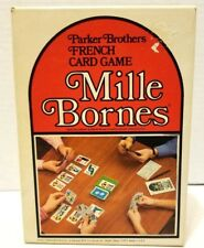 MILLE BORNES French Auto Race Card Game Parker Brothers Vintage 1971