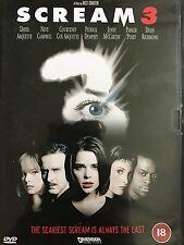 Scream 3 2000 DVD