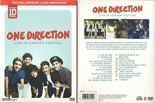DVD ONE DIRECTION - LIVE IN LONDON FESTIVAL (BRAZIL EXCLUSIVE) ULTRA RARE