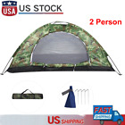 Outdoor Camouflage UV Protection Waterproof 2 People Tent for Camping Hiking