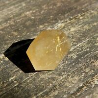 RUTILATED QUARTZ CRYSTAL POINT NATURAL DOUBLE TERMINATED HEALING GEMSTONE