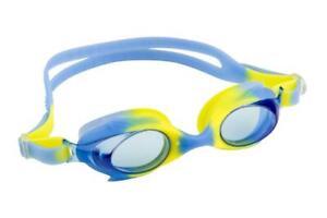 Maru Dolphin Anti Fog Junior Kids Goggles - Blue / Yellow Age 3 - 9 Years