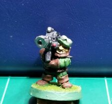 Warhammer 40k Space Dwarf Rogue Trader Squat Heavy Weapon All Metal Rare OOP #5