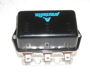 PRESTOLITE VOLTAGE REGULATOR VBO-4201F (8-170) 12-VOLT 25 AMP POS OR NEG GRD