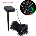 50/100/200LED Home String Fairy Garden Decoration XMAS Party Light Solar Lamp