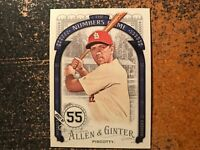 Stephen Piscotty Cardinals 2016 Topps Allen & Ginter The Numbers Game Insert #11