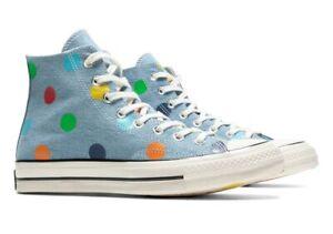 Converse x Golf Le Fleur Chuck 70 Hi in Blue / Polka Dot Multi 170011C Size 8-13