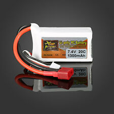 ZOP Power 7,4V 1300mAh 2S 20C Lipo Battery T PLUG   BATTERIA UNIVERSALE
