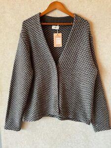 Noa Noa ladies wool blend coat size XL