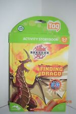 LeapFrog TAG ~ BAKUGAN ~ FINDING DRAGO ~~ Read Details~~NEW