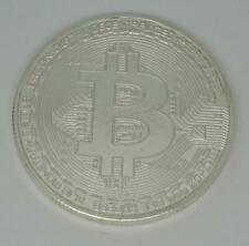One Ounce Copper Silver Plated Collectable Bitcoin