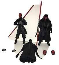 Star Wars the Black Series Darth Maul Orange Line 02 and Archive Edition Lot