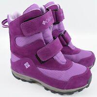 COLUMBIA Kids' Parkers Peak Winter Boots, Violet Colour, size junior UK 3 EU 35