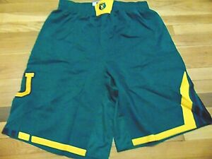 ADIDAS AUTHENTIC NCAA BAYLOR BEARS GREEN BASKETBALL GAME SHORTS 3XL+4""