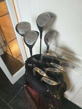 SET OF MENS WILSON SAM SNEAD AND HOWSON GOLF CLUBS, REG FLEX, RIGHT HANDED