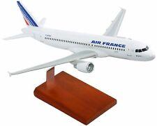"Airplane Air France Airbus A340-300   Wood  24.5""  Model Aircraft"