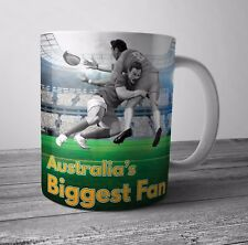 Australia Fan Rugby Mug / Cup - Birthday / Christmas Gift / Stocking Filler