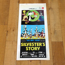 SILVESTER'S STORY locandina poster Merrie Melodies Looney Tunes Friz Freleng X61