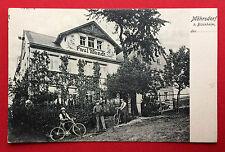 AK MÖHRSDORF bei Bischheim Kamenz um 1900 Haus Paul Wendt mit Typen  ( 13500
