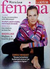 Mag 2005: CAROLE BOUQUET