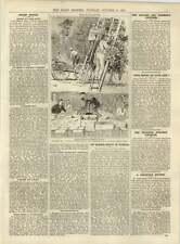 1891 Florida Orange Grove Bridgend Colliery Disaster Police Reports