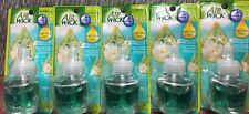 Air Wick Scented Oil Refill  WHITE  FLOWERS   PEONY  BLOSSOM Rare 2008  Lot of 5