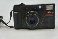 Nikon One Touch Point & Shoot 35mm Film Camera w/ 35mm 1: 2.8 Lens