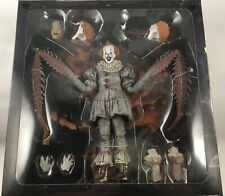 "IT (2017) ULTIMATE PENNYWISE DANCING CLOWN BOX SET NECA 7"" FIGURE SEALED"