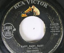 50'S & 60'S 45 Sam Cooke - Baby, Baby, Baby / Send Me Some Lovin' On Rca Victor