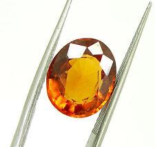 4.52 Ct Certified Natural Garnet/Hessonite/Gomed Loose Gemstone Stone - 118676