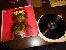 HAIR VINYL LP-HAIR THE AMERICAN TRIBAL LOVE-ROCK MUSICAL