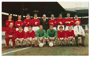 Hornet - 'International Cup Teams' (1963) - Card #11 - Manchester United